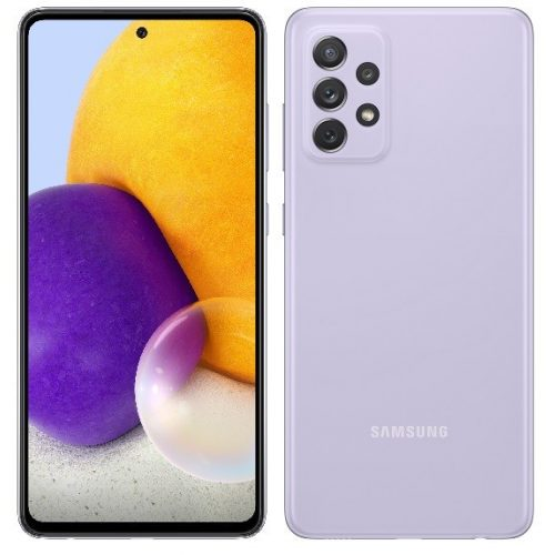 Samsung A72 A725F/DS Dual 128GB 6GB RAM Awesome Violet