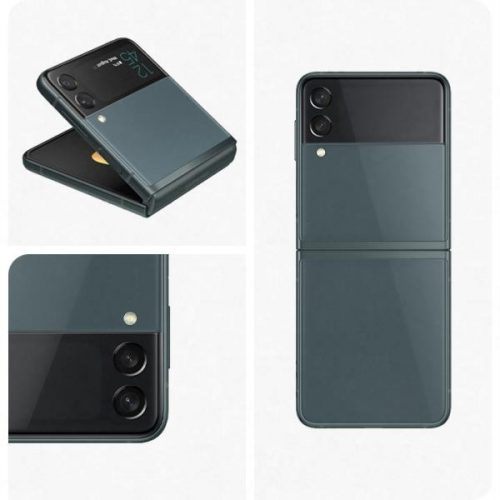 Samsung F711 Z Flip 3 5G 128GB 8GB Dual Phantom Green