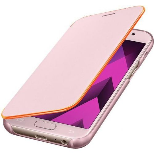 Samsung A320 A3 2017 Neon Flip Cover Pink FA320PF Blister
