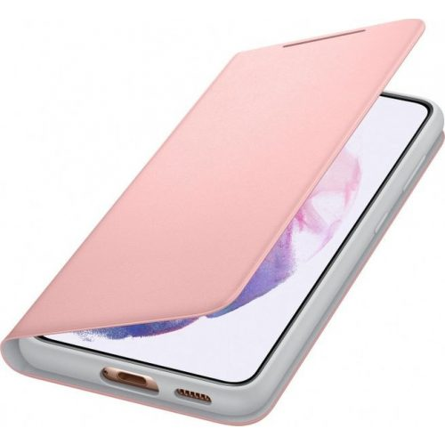 Samsung EF-NG991PPE LED View Cover Galaxy S21 / S21 5G pink