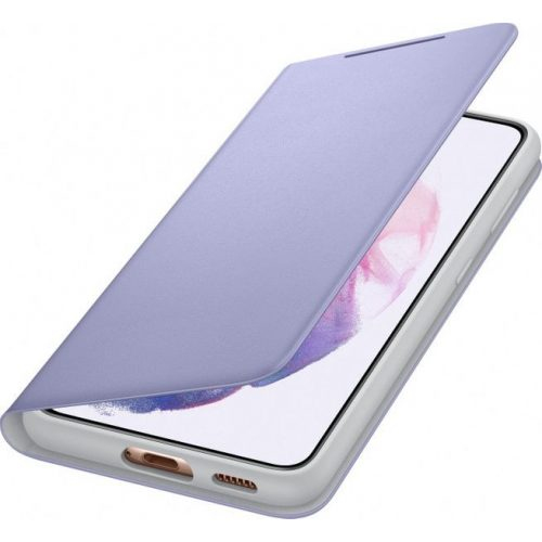 Samsung EF-NG991PVE LED View Cover Galaxy S21 / S21 5G violett