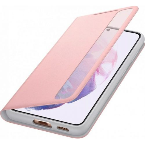 Samsung EF-ZG991CPE Clear View Cover Galaxy S21 / S21 5G pink