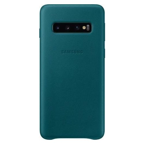 Samsung G970 S10 Leather Cover Green VG973LG Blister