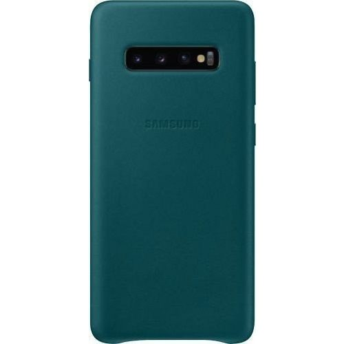Samsung G975 S10+ Leather Cover Green VG975LG Blister